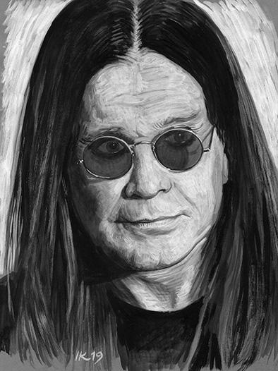 Ozzy Osbourne par vanKristen